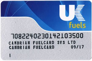 UK Fuels Card Fuel Card for Business Diesel and Petrol