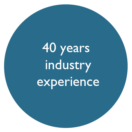 40 years industry experience