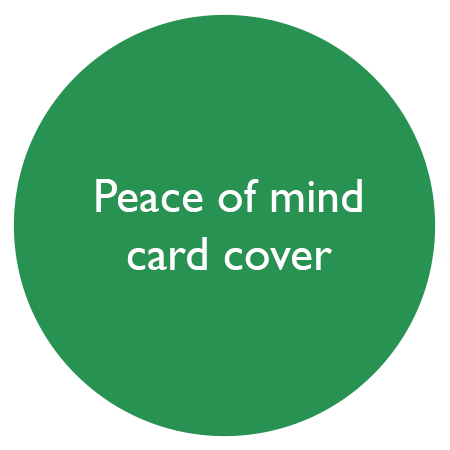 peace of mind card cover