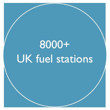8000 plus uk fuel stations