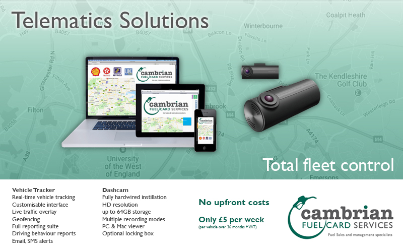 telematics solutions advert