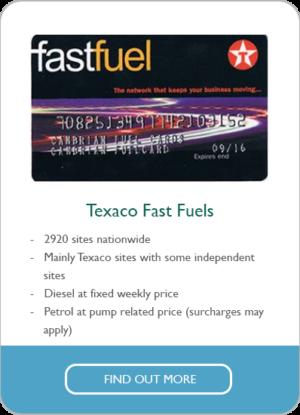 texaco fast fuels
