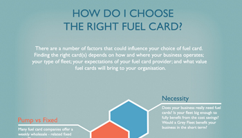 How do I choose the right fuel card?
