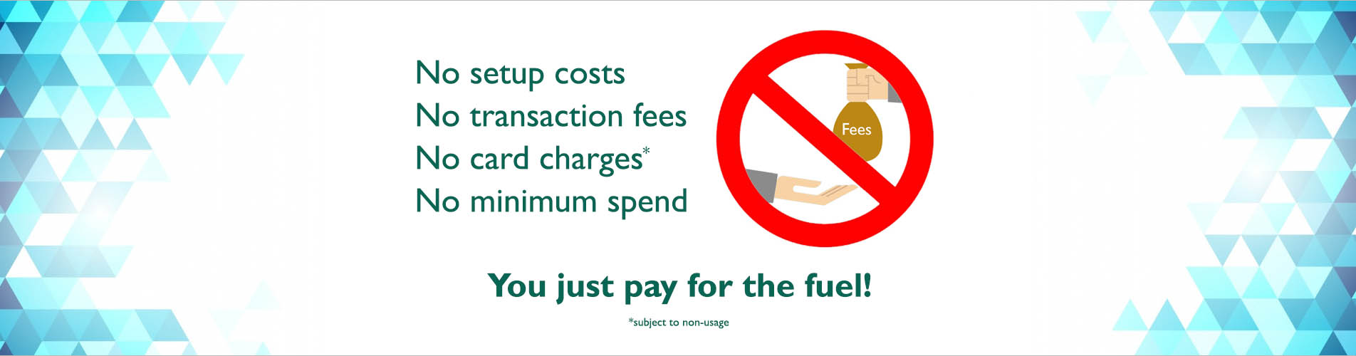 you just pay for the fuel