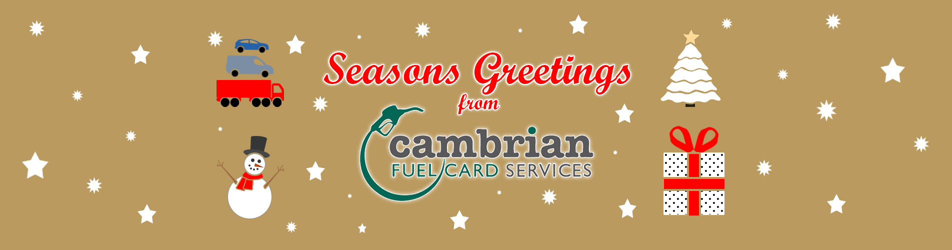 seasons greetings from cambrian fuel cards services
