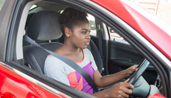 young driver with telematics
