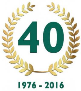 40 years in the industry