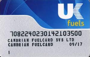 uk fuels card