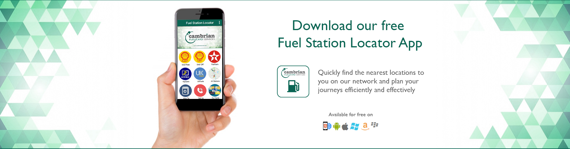 download our free fuel station locator app find out where you can use our fuel cards