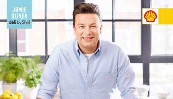 Jamie Oliver has designed a menu for shell