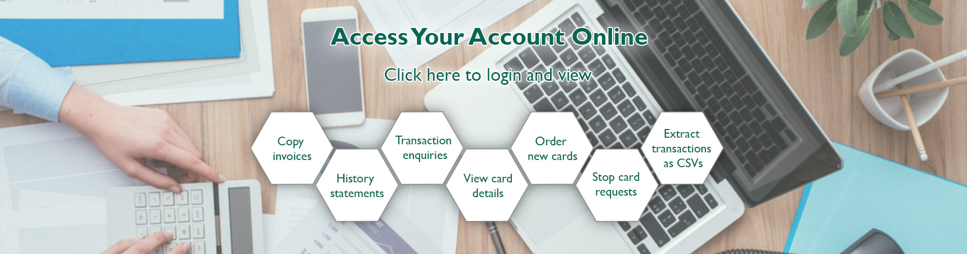 access your fuel card account online