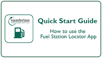 Quick Start Guide - Fuel Station Locator App,