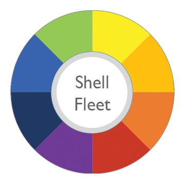 shell fleet card stats