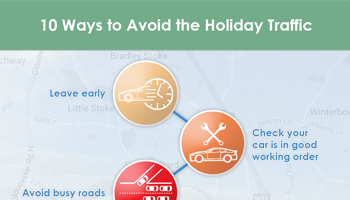 holiday traffic infographic preview