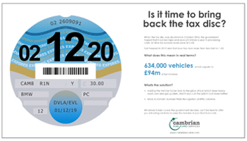 tax disc infographic preview