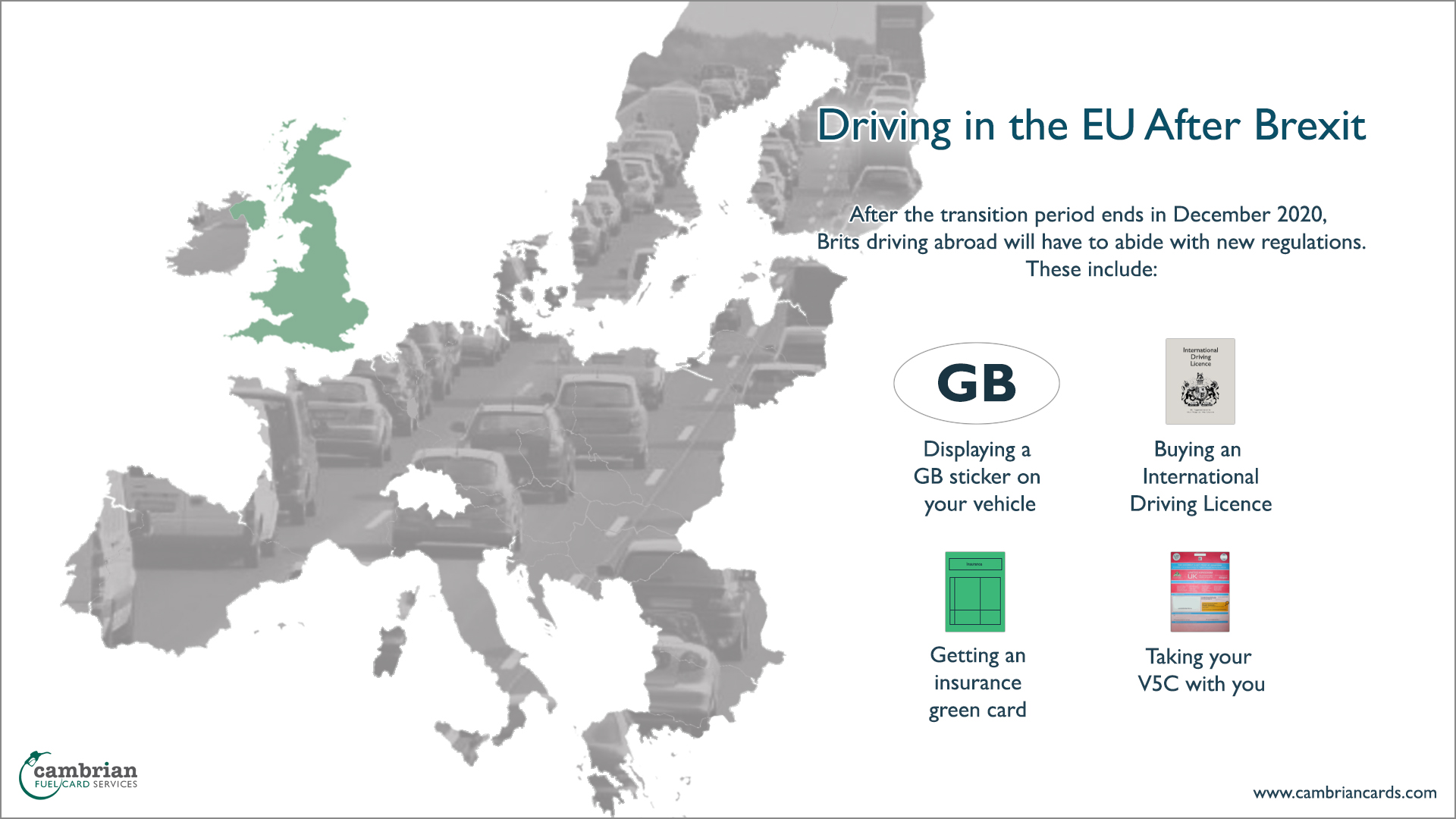 driving in eu infographic
