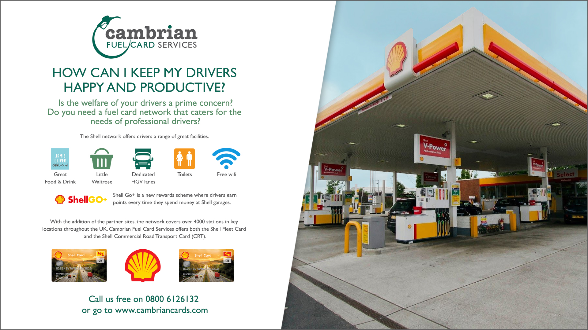 drivers happy shell infographic