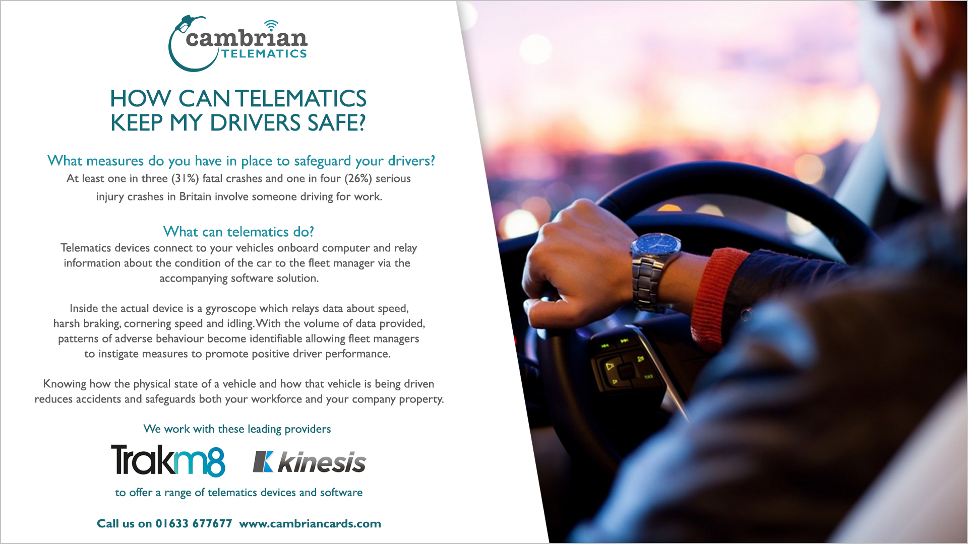 telematics safe drivers infographic