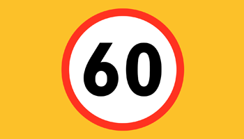 60 mph speed limit preview