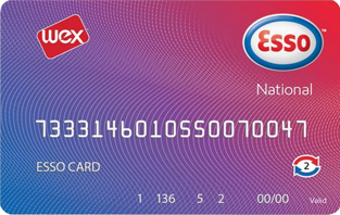 esso national card
