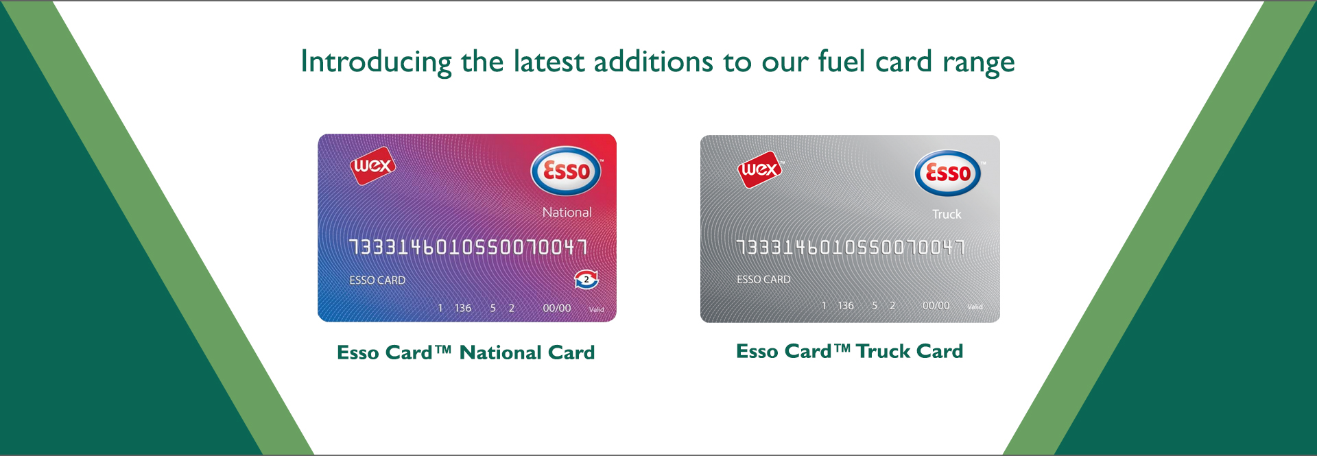 Our New Esso Cards