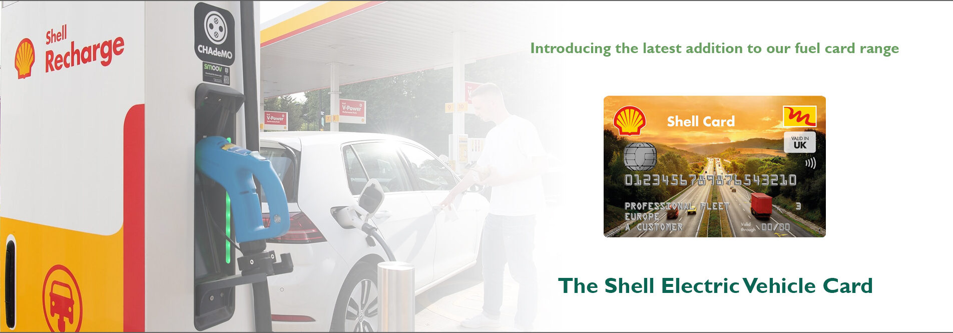 The Shell EV Card is a complete fueling solution in one card. One partner for all day-to-day transport expenses from fuel and EV charging, to serving drivers with quality food and rest facilities. Shell is leading the way to make charging easier and available for everyone.